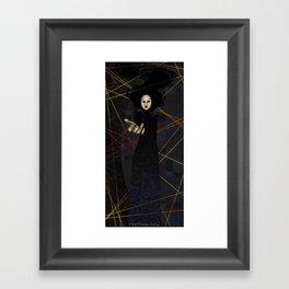 The Raven Queen Framed Art Print