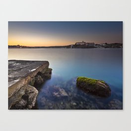 Hospital Harbour Canvas Print