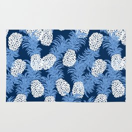 different pineapples Rug