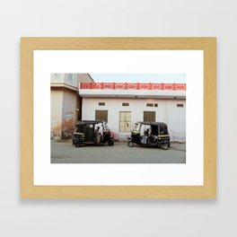 Autorickshaw Framed Art Print