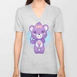 Share bear Unisex V-Neck