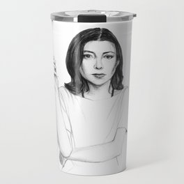Joan Didion Travel Mug