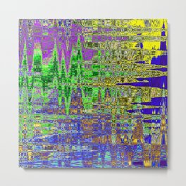 THIRTY SECONDS AFTER UNIVERSE SEVEN FORMED FROM THE VOID Metal Print