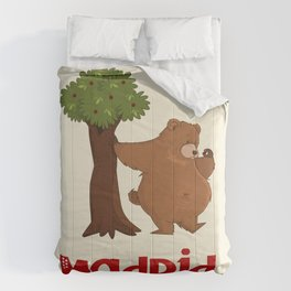 MADRID: Bear and Madrono (v.2) Comforters