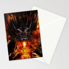 Dragon Negro DNIII Stationery Cards