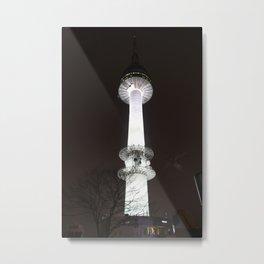 Seoul Tower Metal Print