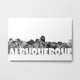 Albuquerque skyline BG2 Metal Print