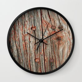 672 Grain Sheds 2 Wall Clock