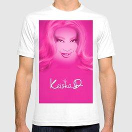 Keisha D in Pink T-shirt