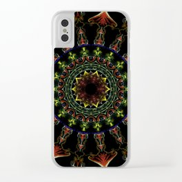 Nine of Petals Clear iPhone Case
