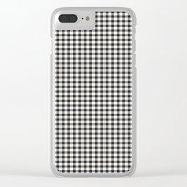 MacPherson Tartan Clear iPhone Case