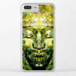 Brother Meditation Clear iPhone Case