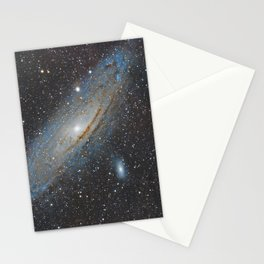 Andromeda Galaxy. Stationery Cards