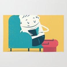 :::Reading on sofa::: Rug