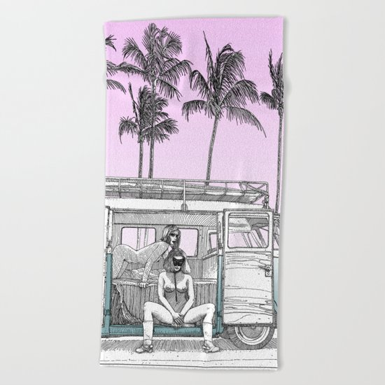 asc 691 -  Book cover for La Musardine Beach Towel