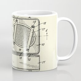 Container for Tennis Racket and the Like-1925 Coffee Mug