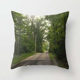 Country Days Throw Pillow