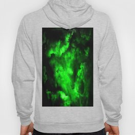 Envy - Abstract In Black And Neon Green Hoody