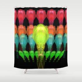 Alien Platoon Shower Curtain