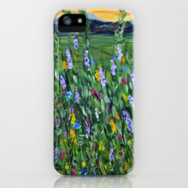 twilight mountain iPhone Case