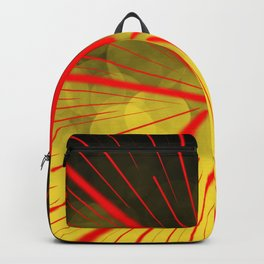 Yellow Complex Abstract Backpack