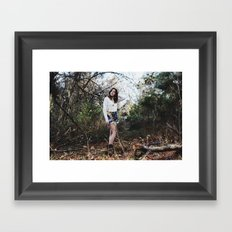 abyss Framed Art Print
