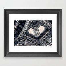 Eiffel Steel Framed Art Print