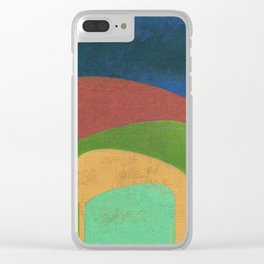 A Elephants Stack Clear iPhone Case