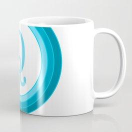 Blue letter Q Coffee Mug