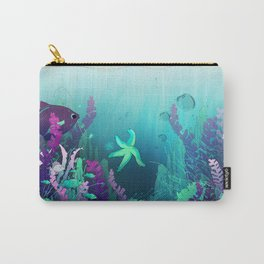 Deep down in the water Carry-All Pouch