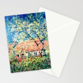 Springtime at Giverny Stationery Cards