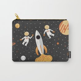 Astronauts in Space Carry-All Pouch