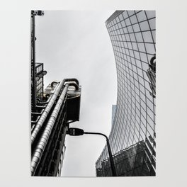 ArWork black white london art work photo Poster