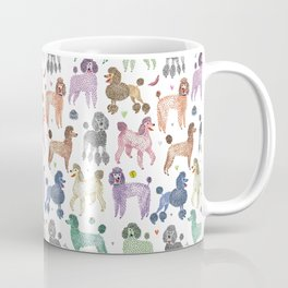 Poodles by Veronique de Jong Coffee Mug