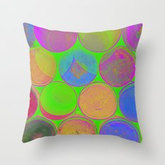 The Lie is a Round Truth 2 Throw Pillow