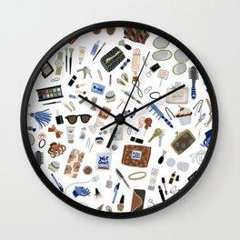 Girly Objects Wall Clock