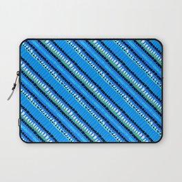 Drops of blue paint Laptop Sleeve
