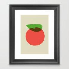 Apple 24 Framed Art Print