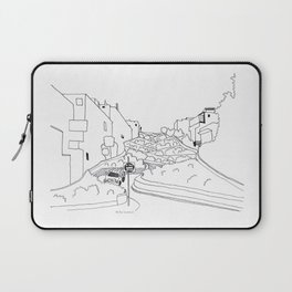 Lombard Hill in San Francisco Laptop Sleeve