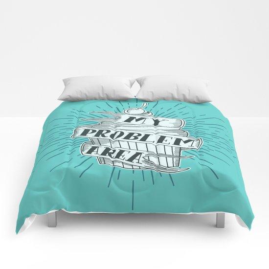 CUPCAKE PROBLEM Comforters