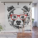 Portrait of Bear with glasses. by victorianovak