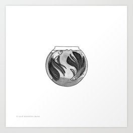 2016 Inktober #19 Art Print