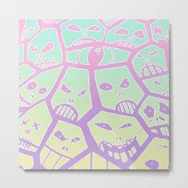 skullflower Metal Print