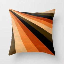 Autumn Stripes Throw Pillow