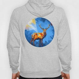 Deer in the Wilderness Hoody