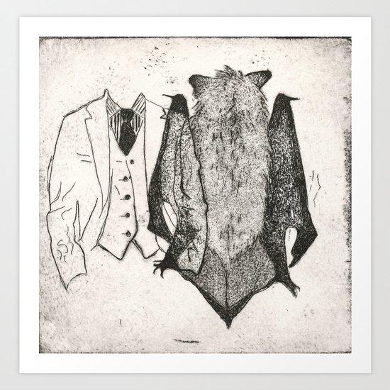 The Seventh Bat Art Print