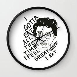 I feel good when I eat Wall Clock