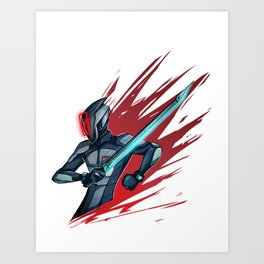Zer0 Art Print