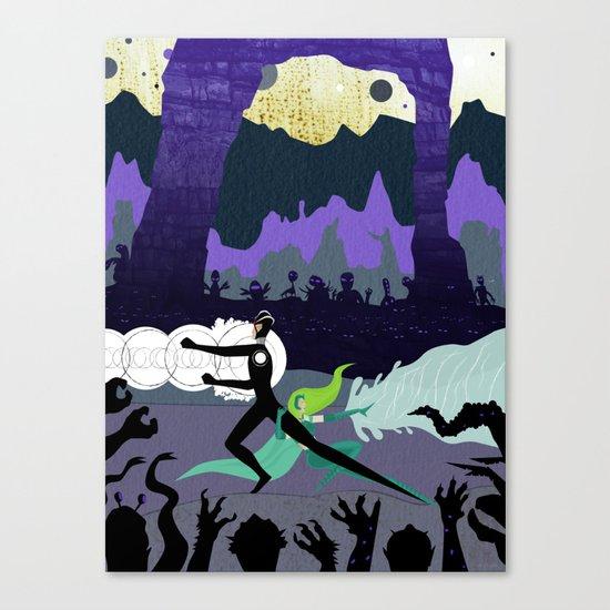 Power Couple Canvas Print