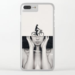 Sightseeing Clear iPhone Case